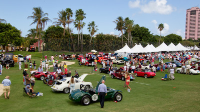Howie at The Boca Raton Concours d'Elegance